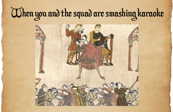 Medieval reactions to modern life The Poke