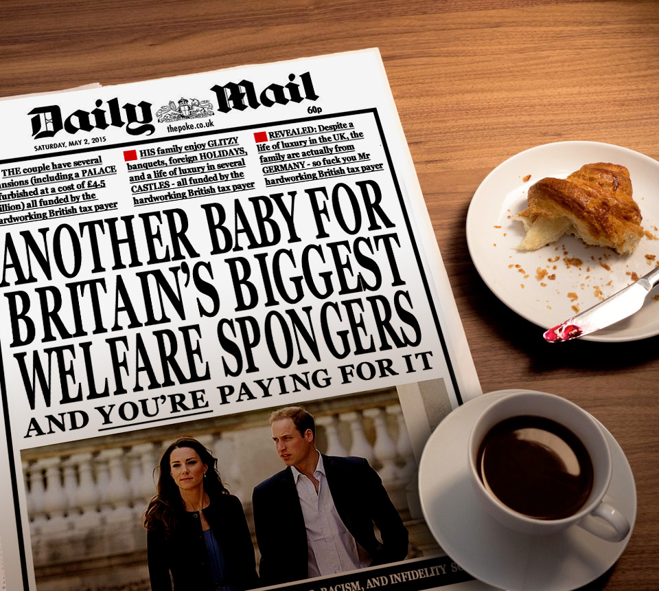 Daily Mail Royal Baby Coverage The Poke