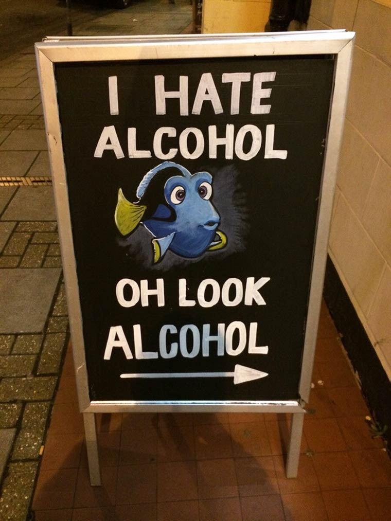 Pub Chalkboard Of The Day The Poke