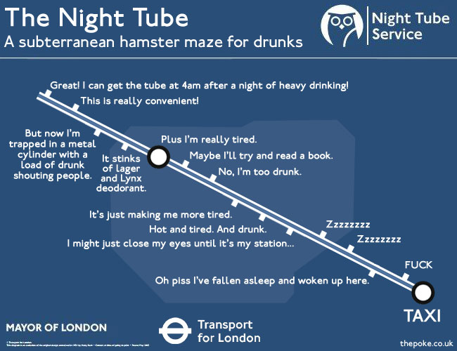 Londons 24 Hour Tube Map Revealed The Poke