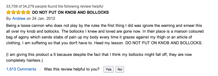 Some Choice Amazon Reviews For Veet For Men Hair Removal Gel Cream