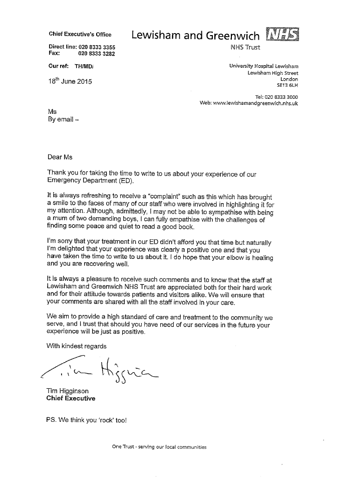 This is our favourite letter of complaint to the nhs the poke 20912 m9o0ky thecheapjerseys