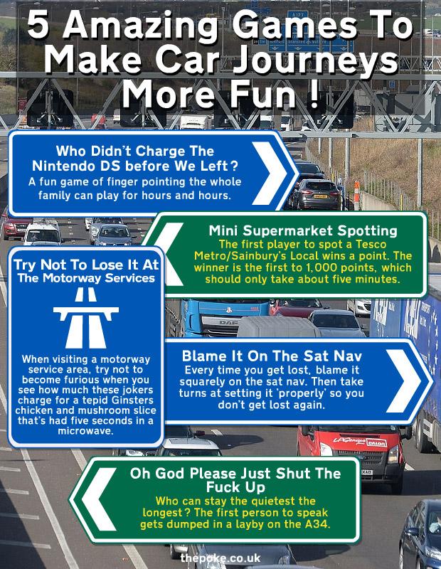 how to make driving fun