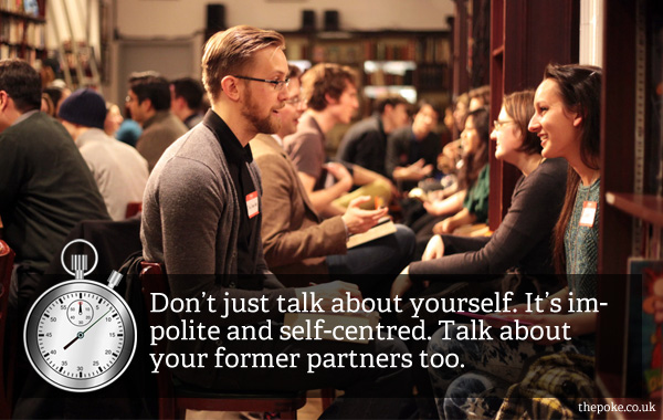 what to talk about when speed dating