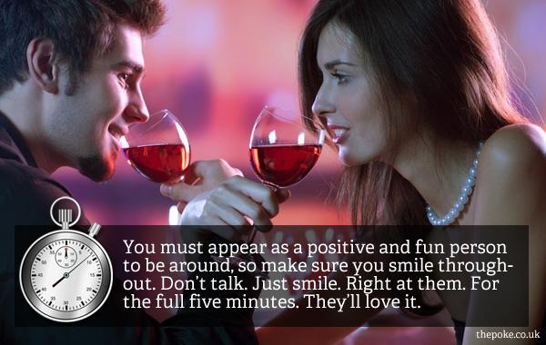 Speed dating tips uk