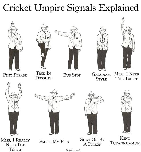 umpiresignals