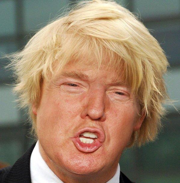 If you face-swap Donald Trump with Boris Johnson you get Owen Wilson ...