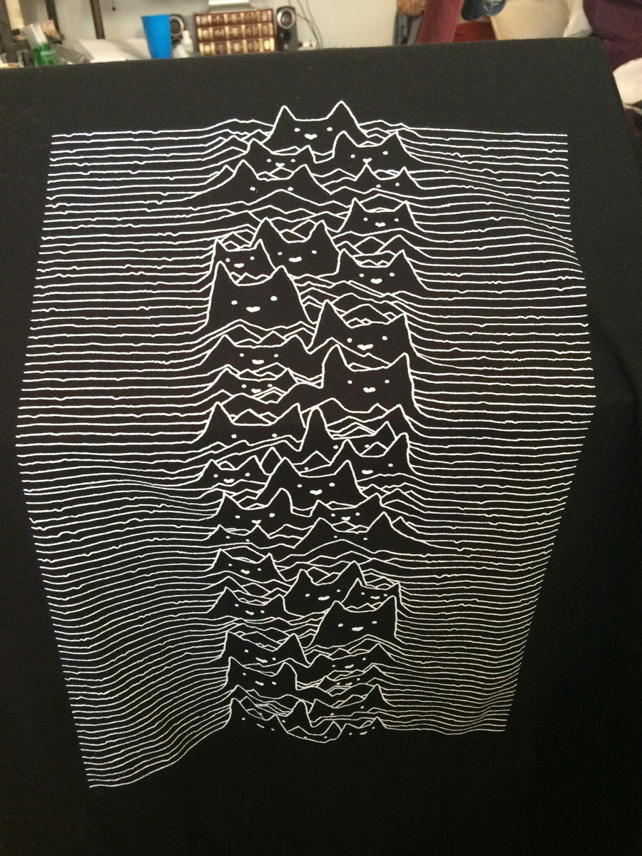 T Shirt Shop >> Finally, a t-shirt for fans of both Joy Division and cats The Poke
