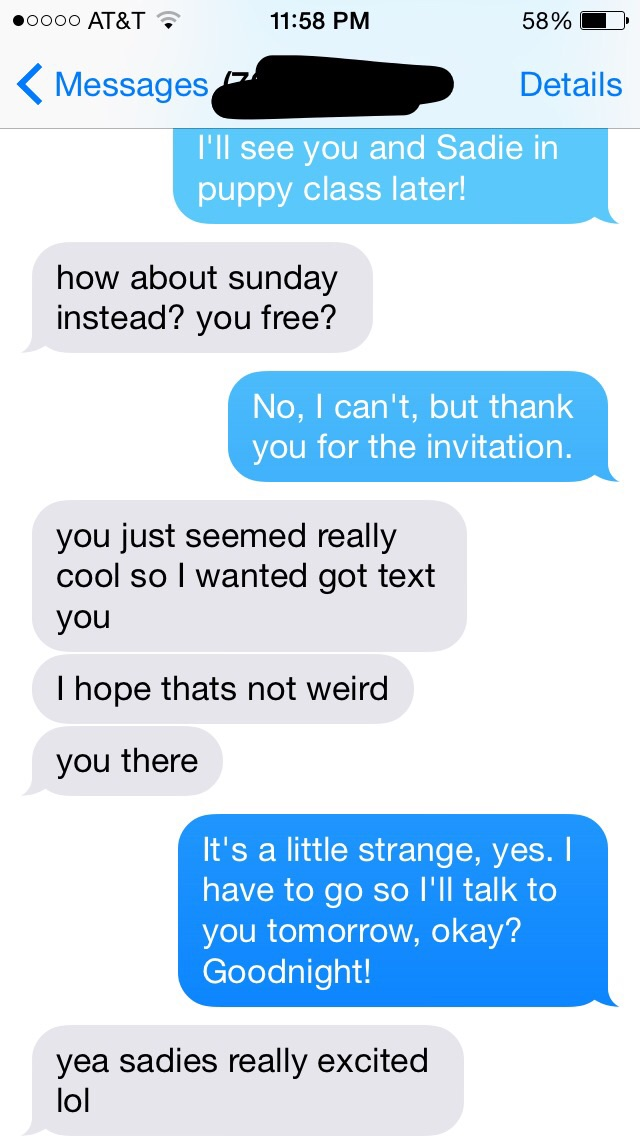 how to ask a girl to meet up over text