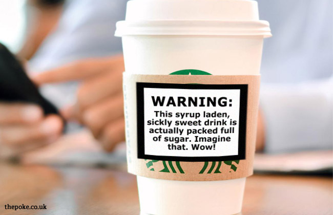 Starbucks Warning