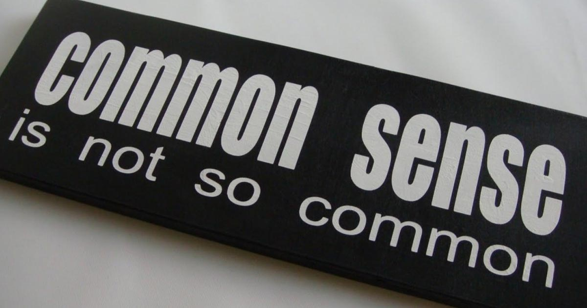 Take this quiz and find out how much common sense you have