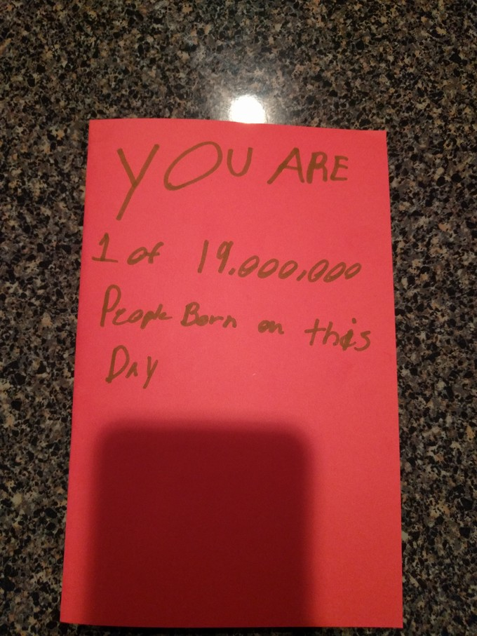 A Child Has Given Their Teacher One Of The Worst Home Made Birthday