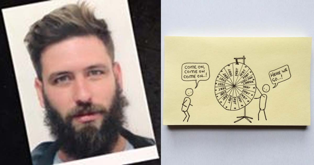 This Guy Makes Post It Notes That Perfectly Sum Up Adulthood The Poke