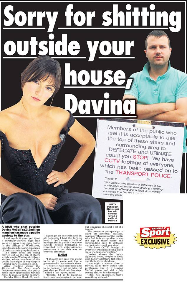 sunday sport best headlines dating