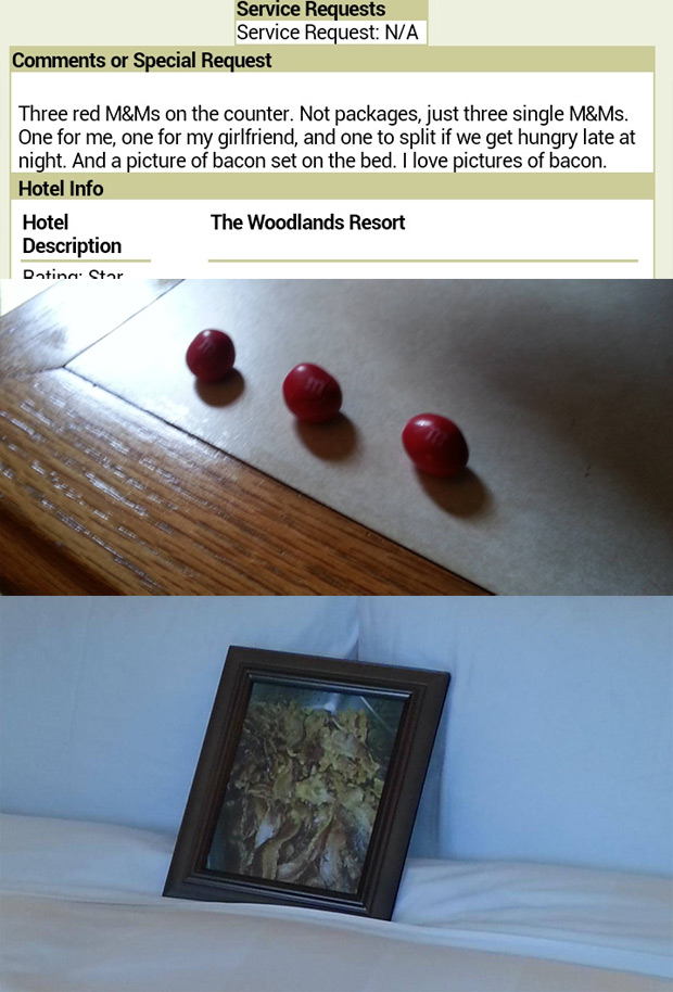 Bored Businessman Makes Ridiculous Requests To Hotel Staff