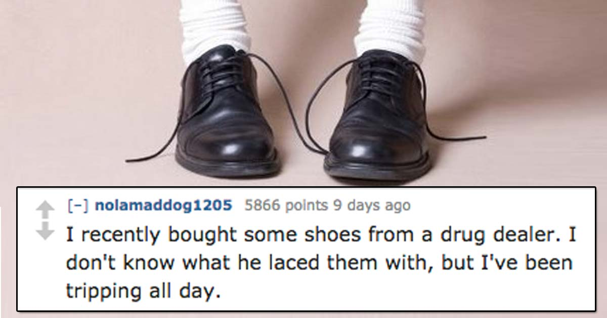 """People are sharing """"jokes that are so stupid that they're funny"""" and they're COMPLETELY RIGHT"""