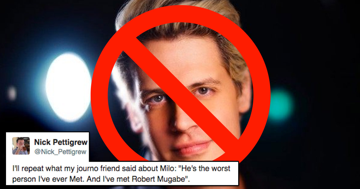 Milo Yiannopoulos permanently banned from Twitter: the seven most ...