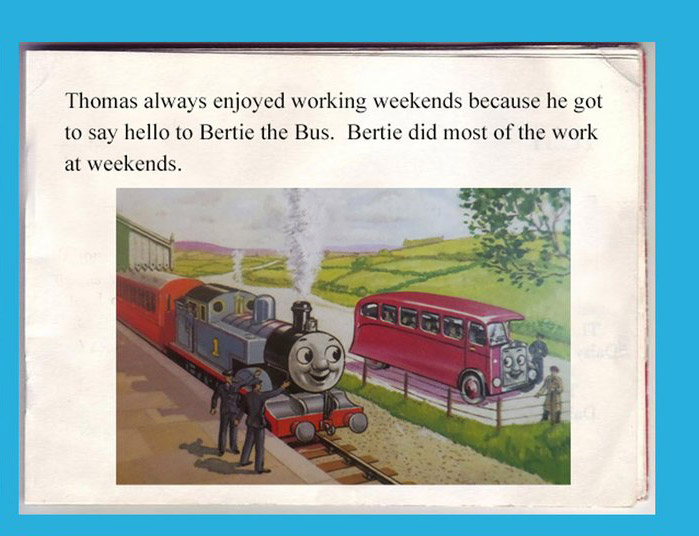 """These six """"If Southern Rail ran the Island of Sodor ..."""