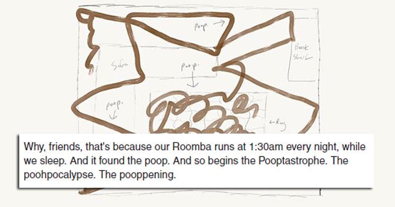 "Man describes the harrowing events of ""poohpocalypse"" when ..."