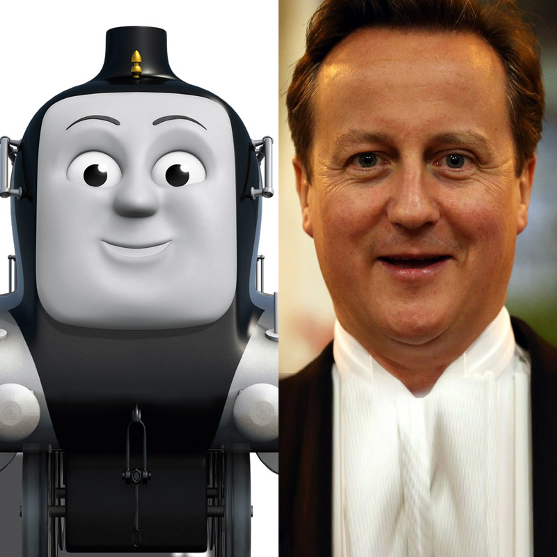 11 British politicians reimagined as Thomas The Tank ...