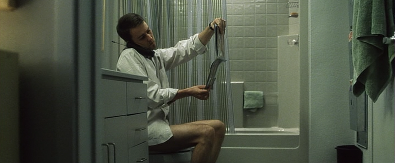 toilet scene
