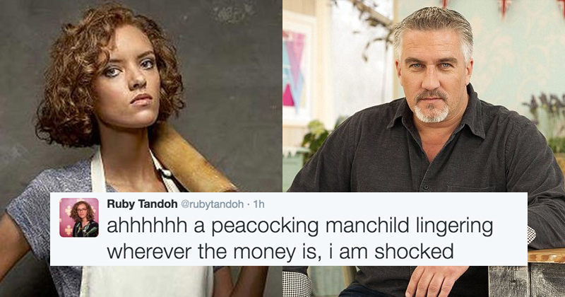Paul Hollywood Gets Absolutely Roasted By Former Bake Off