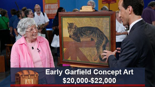 renaming items on antiques roadshow makes a huge