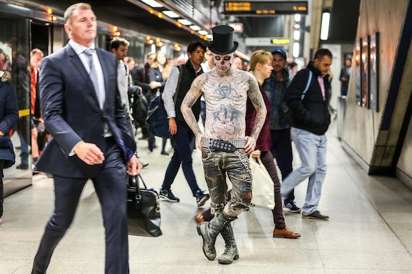 Zombie Boy in London