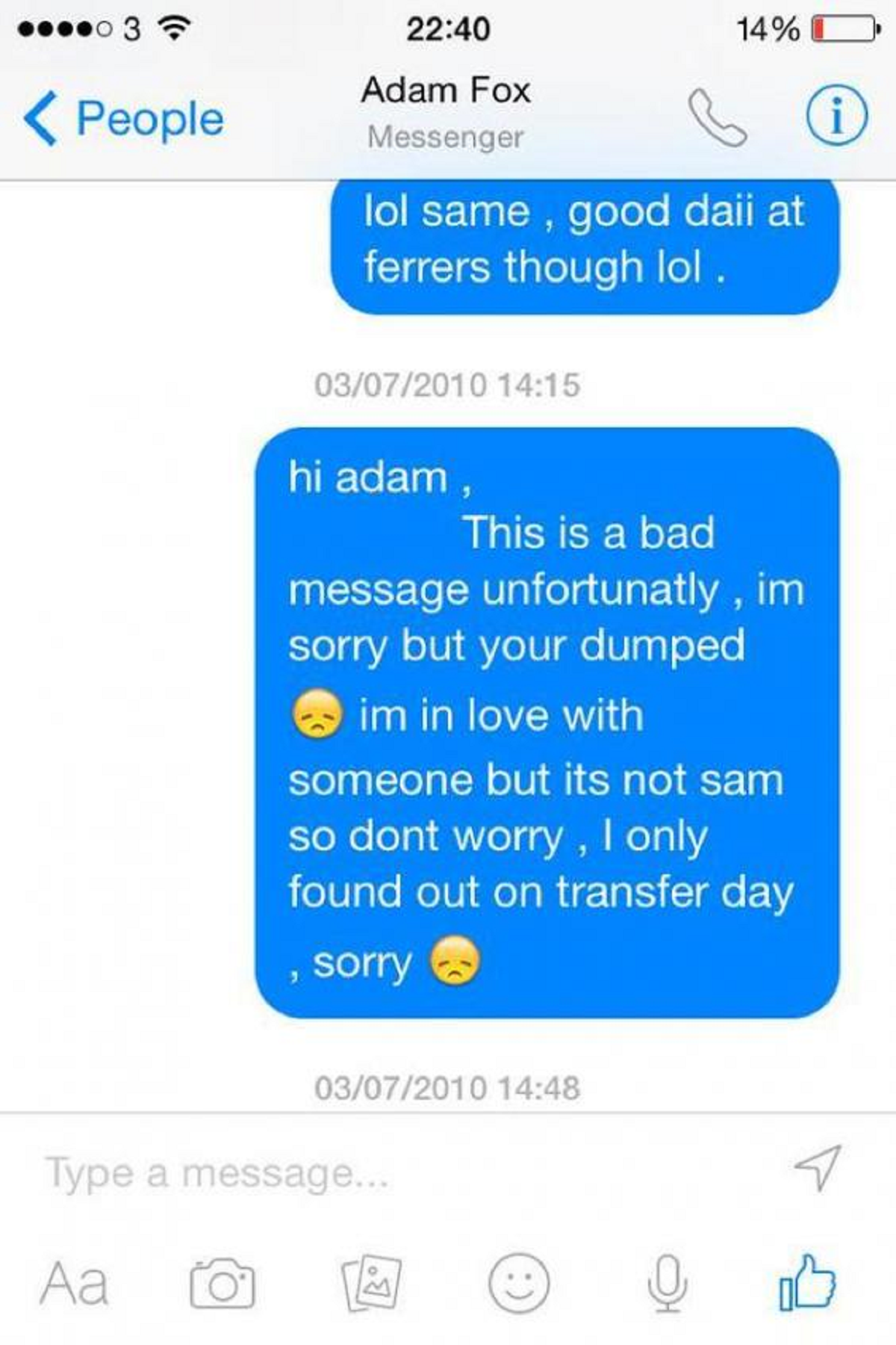 Are these the 8 most amazing break-up texts ever? The Poke
