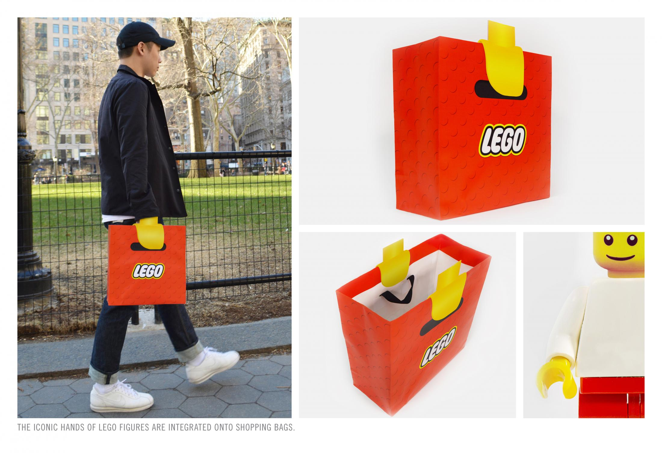 a bag that gives you lego hands the poke. Black Bedroom Furniture Sets. Home Design Ideas