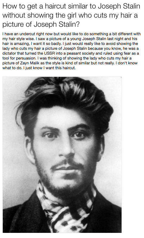 This Yahoo Answer About Stalin Has Gone Viral Because Its So