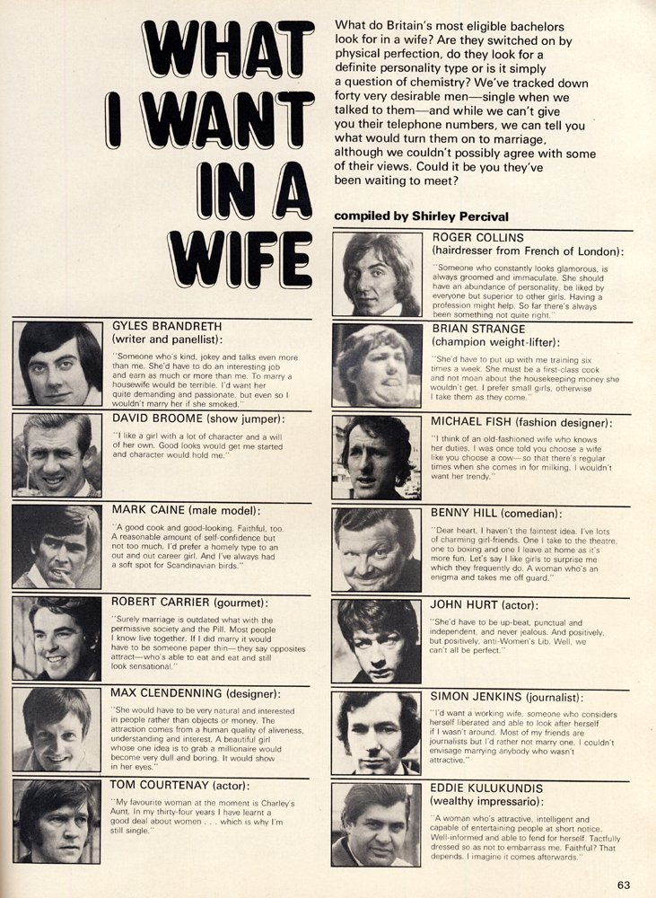 i want a wife article