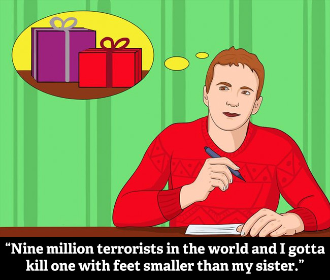Christmas Illustrations From Wikihow Work Really Well With Die Hard