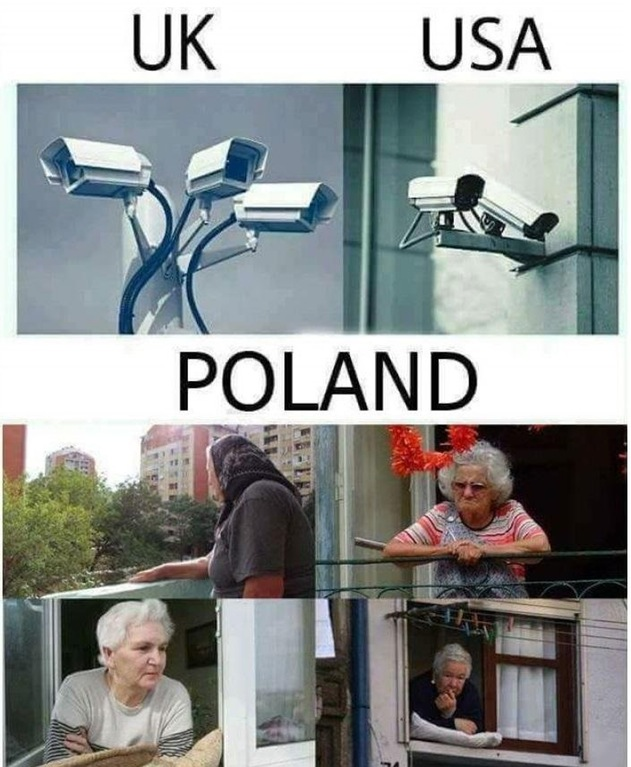 Comparing how security works in the UK vs Poland
