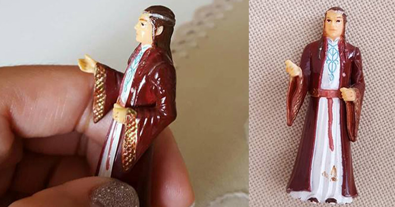 Great-grandma finds she's accidentally been praying to a Lord of the Rings figurine for years