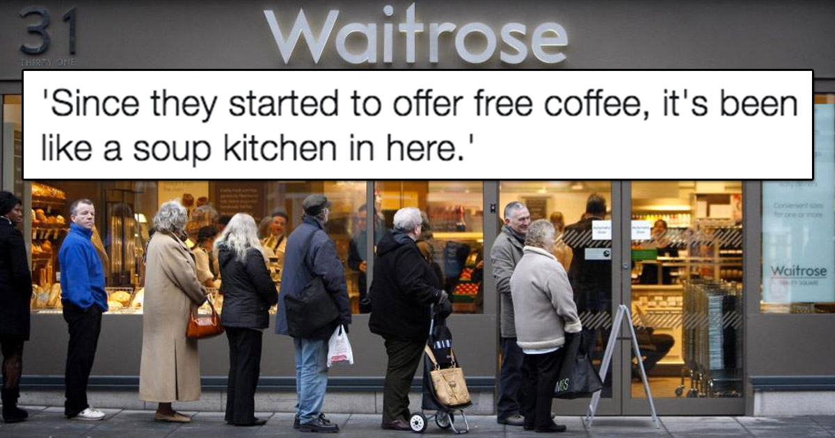 45 things overheard in waitrose that 39 ll make you laugh. Black Bedroom Furniture Sets. Home Design Ideas