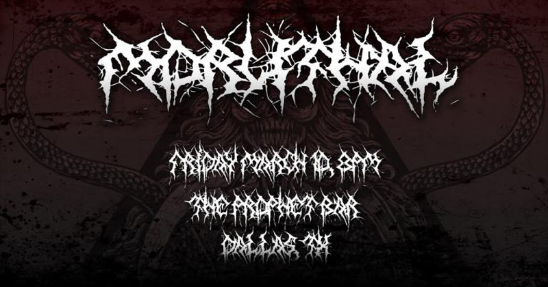 low turnout to death metal gig after flyer accidentally