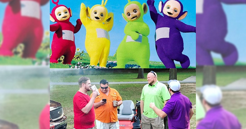 Text My Phone >> What the Teletubbies look like now is amazing The Poke