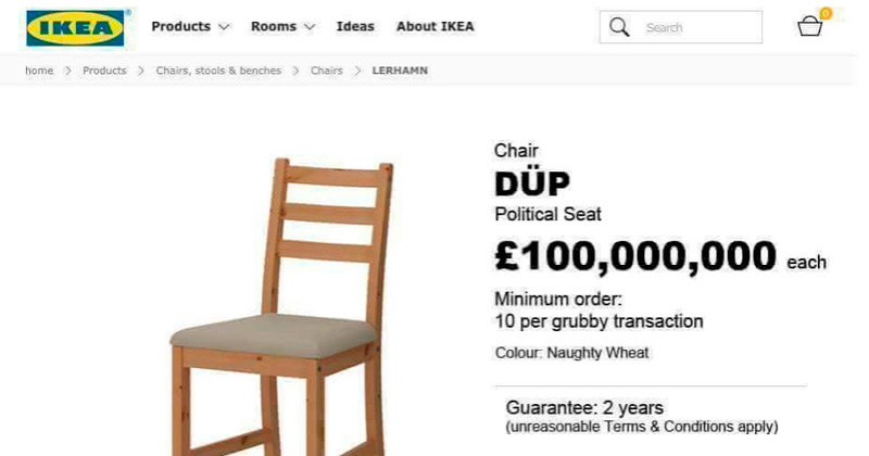 IKEA have some new furniture to mark Theresa May's deal with