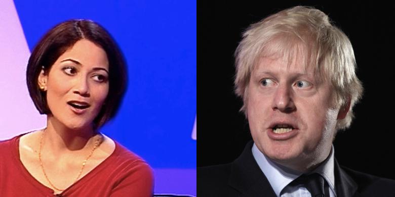 Boris Johnson Talking