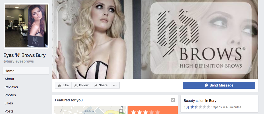 This beauty salon facebook page is going viral because the for Reading beauty salon