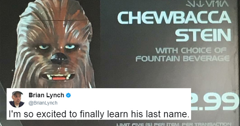 Here's a great bit of trivia most Star Wars fans won't know