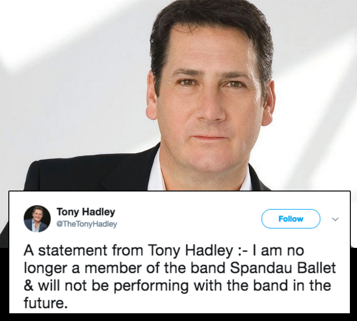 tony hadley announces split from spandau ballet and the internet responds with jokes the poke. Black Bedroom Furniture Sets. Home Design Ideas
