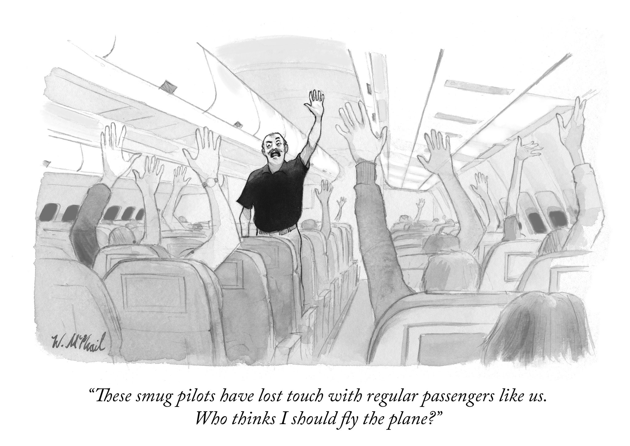 New Yorker cartoon nails 70% of what's wrong with the world ...