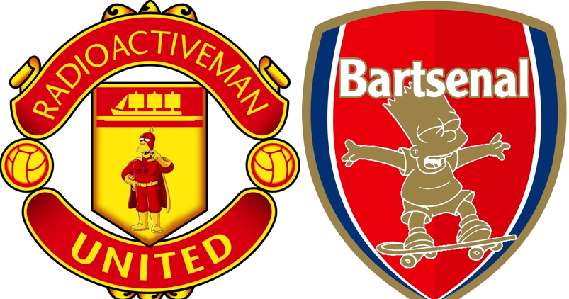 What your football club badge would look like if it was in the Simpsons