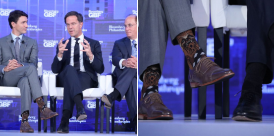 Just when we thought people couldn't love Justin Trudeau more - check out the socks