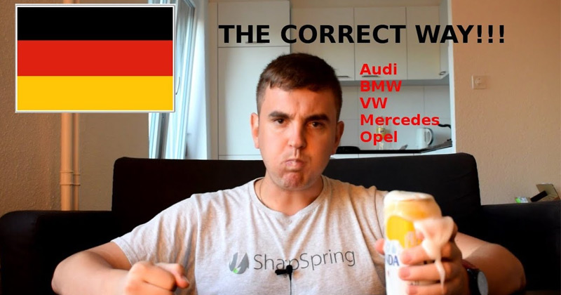 How To Correctly Pronounce German Car Names The Poke