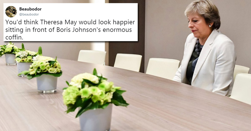 The Brexit negotiations in Brussels seem to be going well...