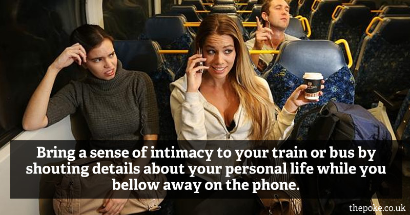 The 7 golden rules of public transport etiquette The Poke