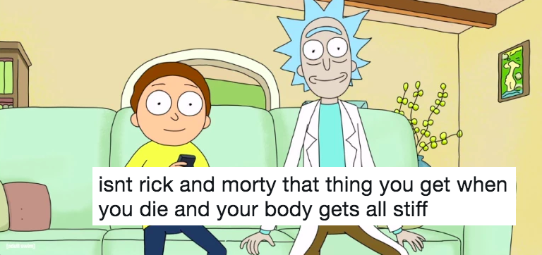 This Rick and Morty joke spiralled out of control and will restore your faith in Twitter